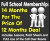 14 Months School Membership for price of 12